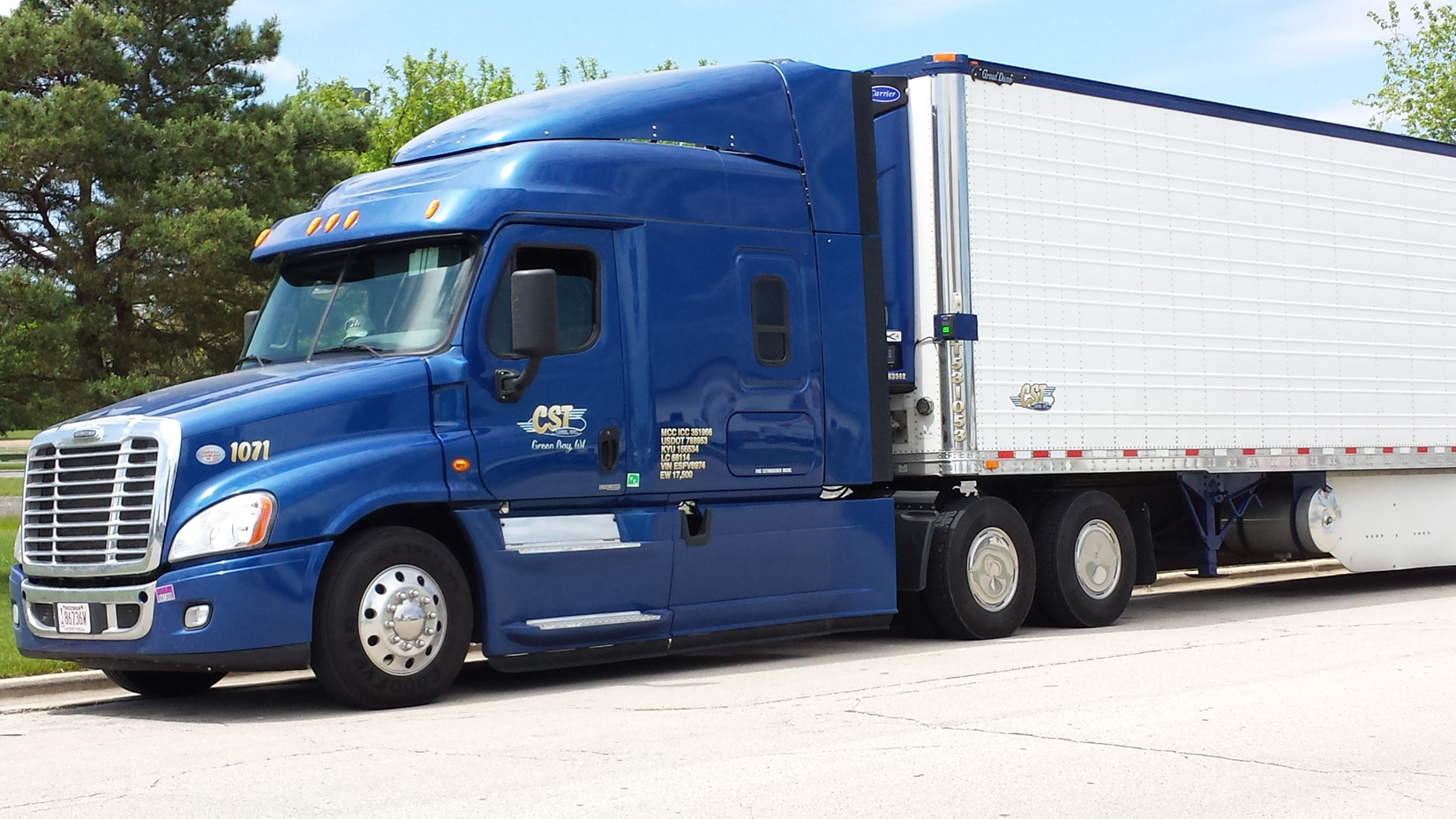 CST Lines, Inc. Transportation, Green Bay, WI